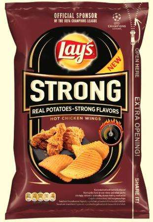Lay's Strong Hot Chicken Wings, 150g