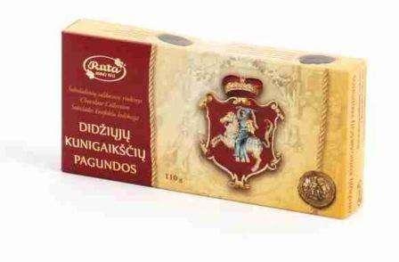 """Assorted sweets """"Didžiųjų kunigaikščių pagundos"""", 110 g"""