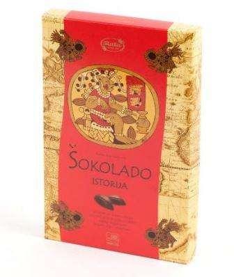 """Assorted sweet """"Šokolado istorija"""", 160 g"""