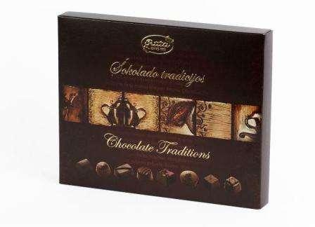 "Assorted sweet ""Šokolado tradicijos"" 220 g"