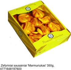 """Zephyr cookies """"Marmariukas"""", 350 g."""