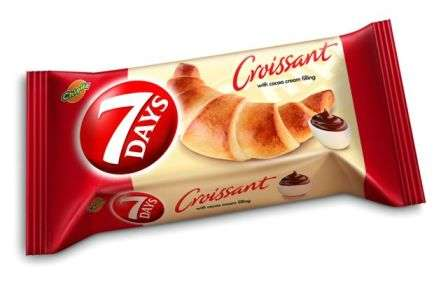 """7 DAYS""Midi croissant  with cocoa flavor filling  60g"