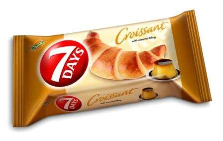 """""""7 DAYS""""  Midi croissant  with caramel flavor filling 60g"""