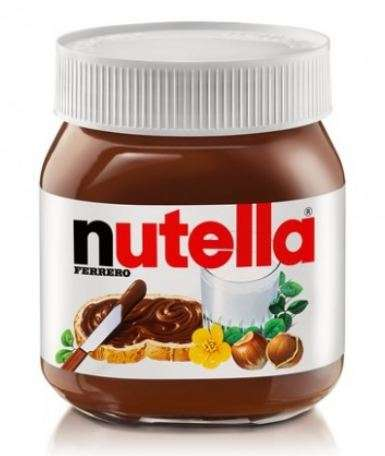 NUTELLA cream with hazelnuts and cocoa, 600g