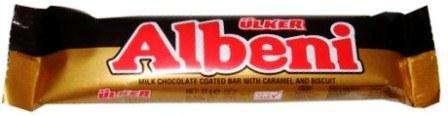 ALBENI 31 g /chocolate bar