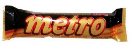 METRO 30 g /chocolate bar