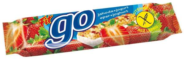GO Strawberry 23 g /Muesli Bar