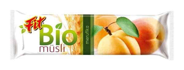 FIT BIO Musli Apricot 30 g /Muesli Bar