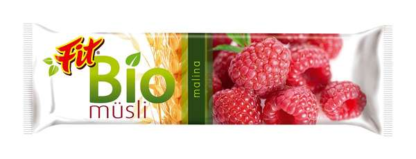 FIT BIO Musli Raspberry 30 g /Muesli Bar