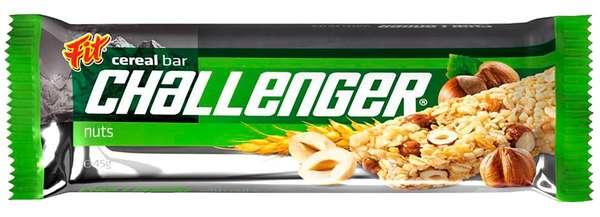 CHALLENGER Nuts 45 g /Cereal Bar