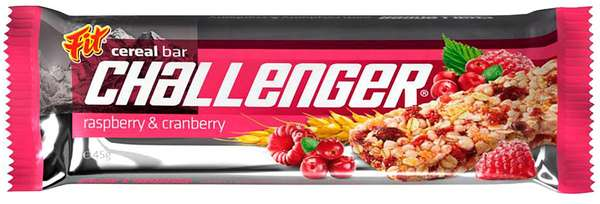 CHALLENGER Raspberry&Cranberry 45 g /Cereal Bar