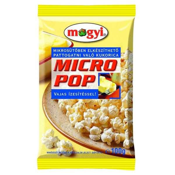 Pop corn MOGYI, butter flavored, 100 g