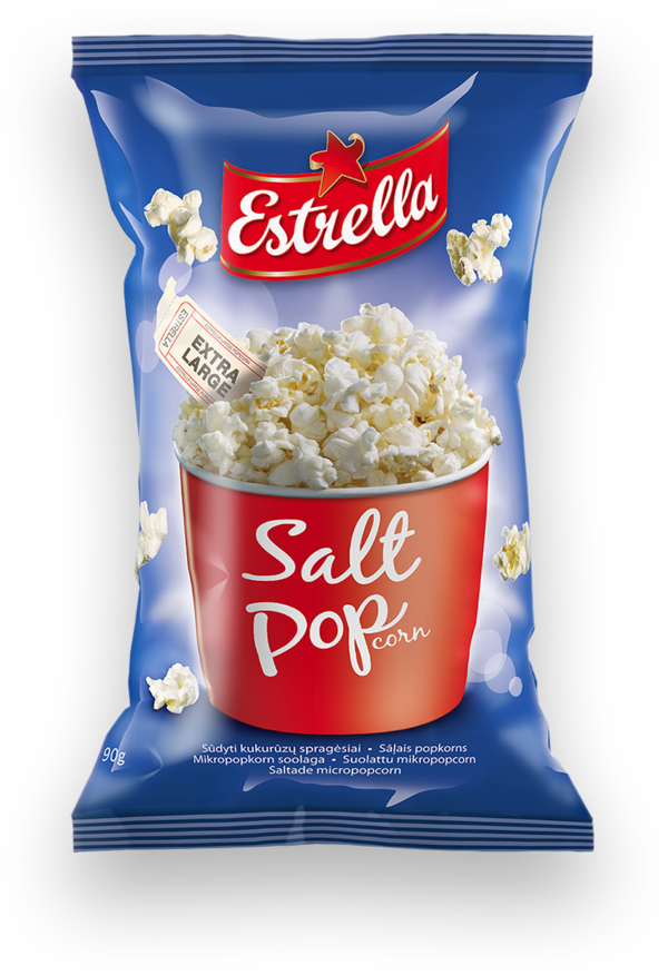 Micropopcorn ERSTRELLA, salted, 90 g