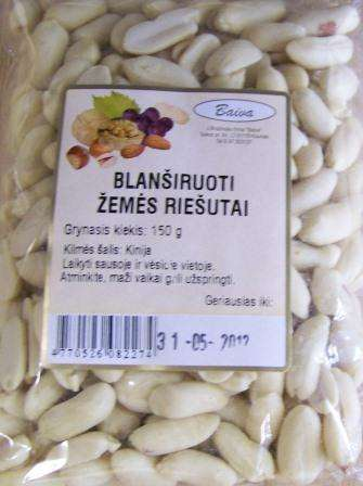 Blanched peanuts 150g