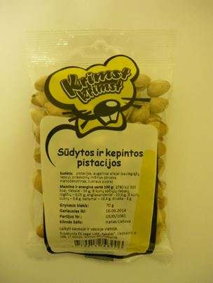 KRIMST KRIMST 70 g Pistachios Roasted Salted