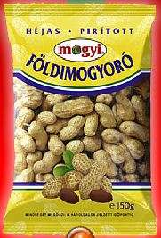 Unshelled roasted peanuts MOGYI, 150 g