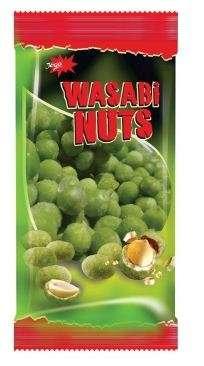 "Coated peanuts with wasabi ""Jėga"", 200g"