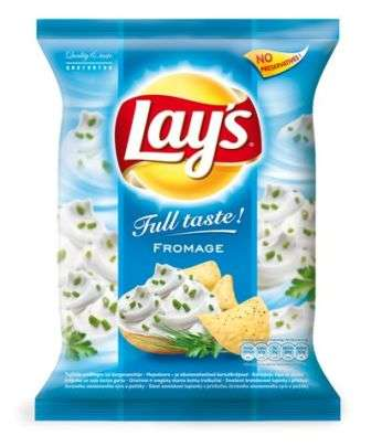 """Lay's"" Sour cream flavored potato chips 77g"
