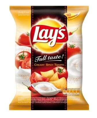 """Lay's"" Tomato flavored potato chips 77g"