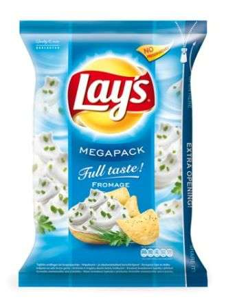 """Lay's"" Sour cream flavored potato chips 220g"