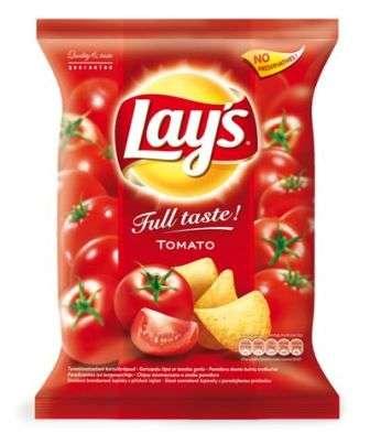 """Lay's"" Tomato flavored potato chips 220g"