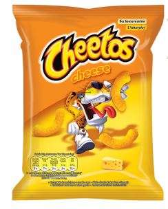 """Cheetos"" Cheese flavored corn snacks 85g"