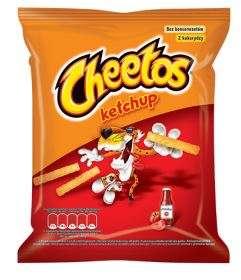 """""""Cheetos"""" Ketchup flavored corn snacks 85g"""