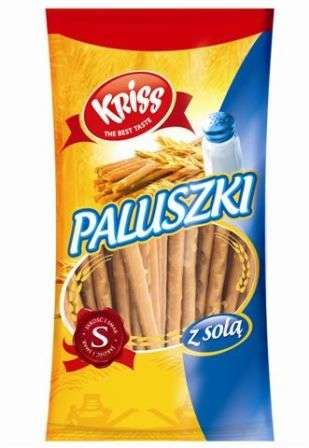 "KRISS ""Paluszki z sola"" 70 g /Salted sticks"