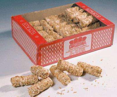 Coated wafer rolls with filling 220g