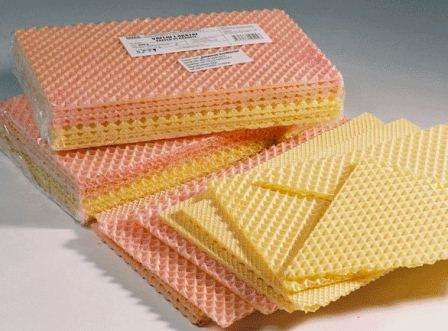 Colored wafers 200g
