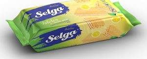 Wafers SELGA with lemon taste 90g