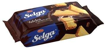 Wafers SELGA with chocolate taste 90g
