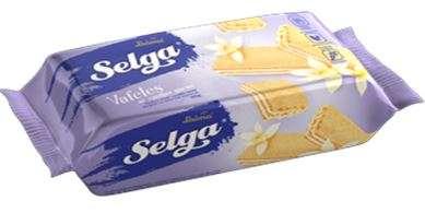 Wafers Selga with vanilla taste 90 g
