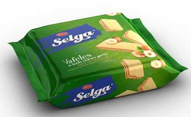 Wafers SELGA with hazelnut taste 180g