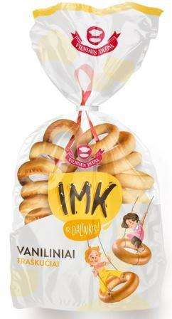 IMK Vanilla flavored rings, 0,300kg