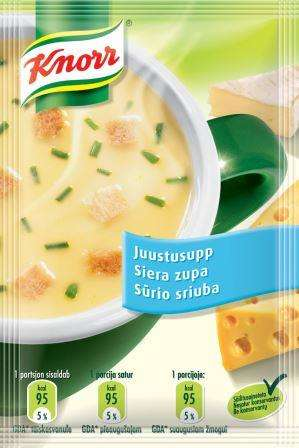 KNORR thick soup with cheese croutons 19g