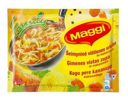MAGGI Chicken Soup with marital makaron. 130g