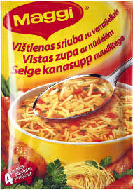 MAGGI Chicken soup with noodles 50g