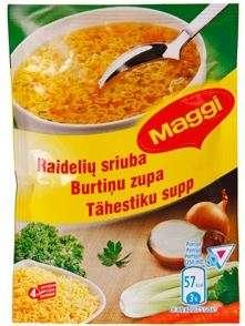 MAGGI alphabet soup 68g