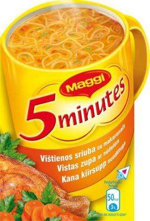 MAGGI Chicken Soup traditional noodles 55g