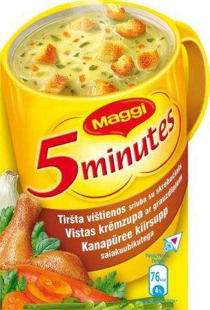 MAGGI Chicken Soup soluble thick with skreb.16g
