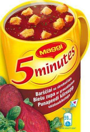 MAGGI soup instant soup with croutons 16g
