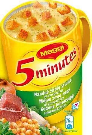 MAGGI instant soup with nam.žirnių skrebuč.21g