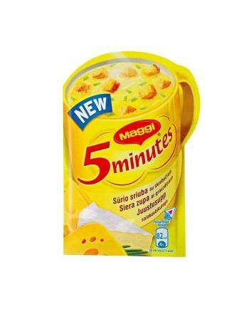 MAGGI instant soup with cheese croutons 19g