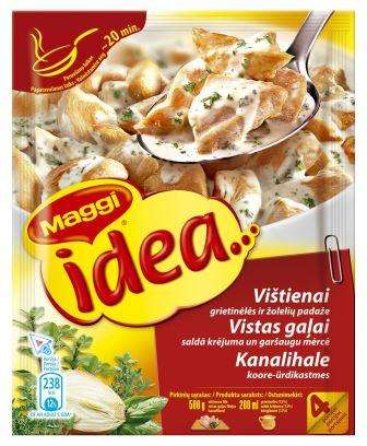MAGGI Idea ... template for chicken and herb cream sauce 30g