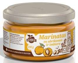 Marinade with apricot and ginger, 190g