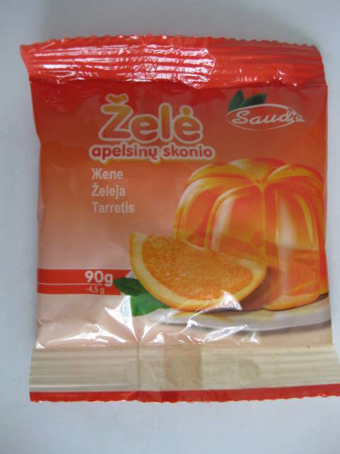 Jelly with taste of orange90g