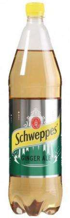 Soft drink Schweppes ginger ale 1,5 L pet