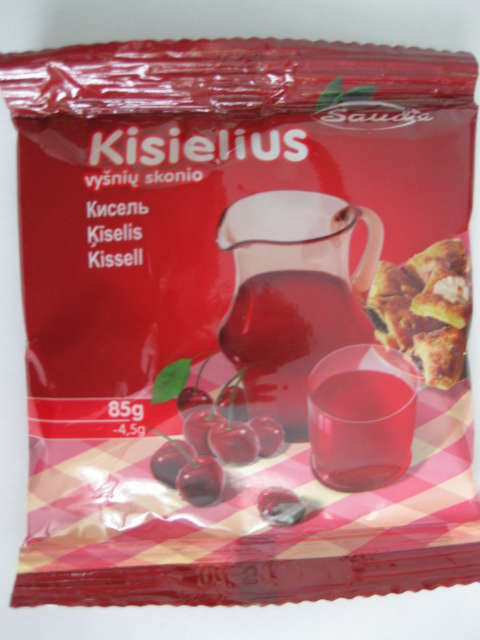 Kisiel with taste of cherry 85g