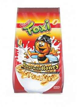 Puffed wheat with honey FOXI  160 g